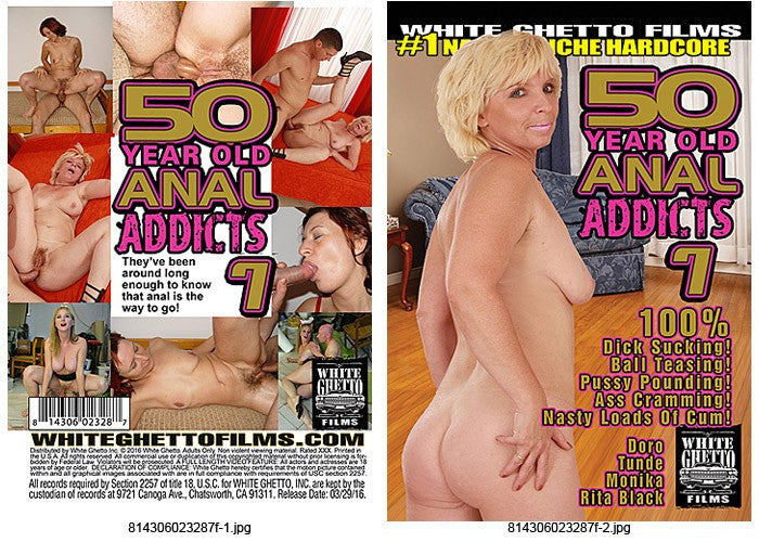 50 Year Old Anal Addicts #7 - White Ghetto 2016 DVD