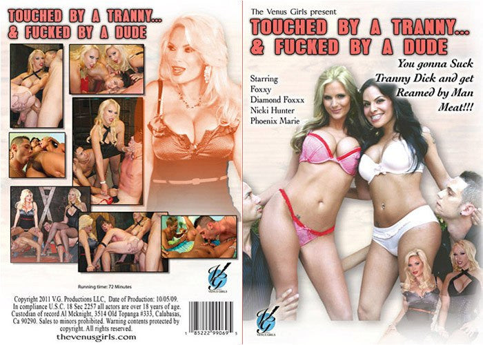 Touched by a Tranny & Fucked by a Dude #1 - Venus Sealed DVD