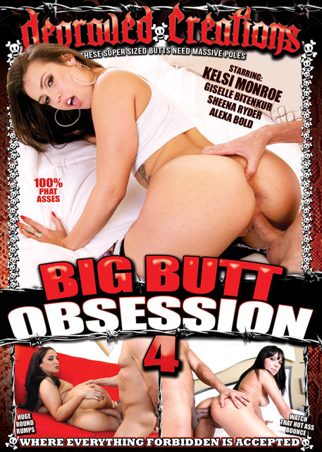 Big Butt Obsession #4 - Mile High DVD