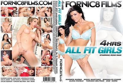 All Fit Girls - Fornic8 Films 4 Hour Sealed DVD
