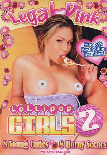Lollipop Girls #2 (european amateur) Legal Pink DVD