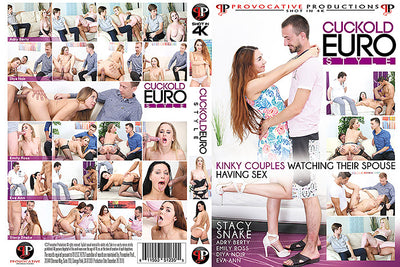 Cuckold Euro Style - Provocative Sealed 4K DVD
