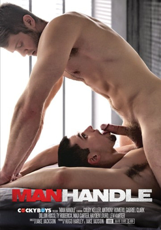 Man Handle - Cocky Boys Gay Sealed DVD