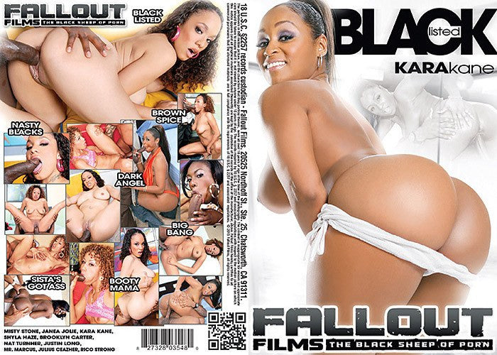 Black Listed - Fallout Adult XXX Sealed DVD