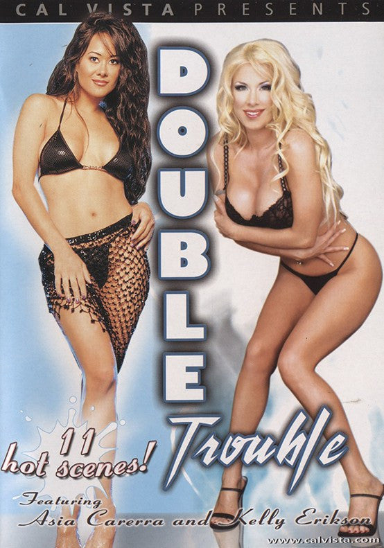 Double Trouble - Cal Vista Adult XXX Sealed DVD