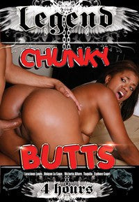 Chunky Butts - 4 Hour - DVD In Sleeve
