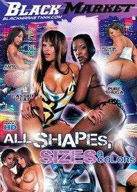 All Shapes, Sizes and Colors - Black Market Sealed DVD