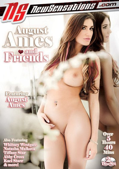 August Ames and Friends 5 Hours New Sensations 2 Sealed DVD Set