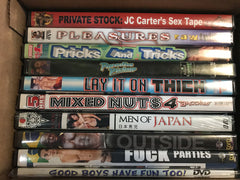 10 Different Gay New Sealed DVDs   (Exact Titles) 071419-12