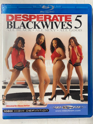 Desperate Blackwives 5 - Video Team Blu Ray Original Sealed