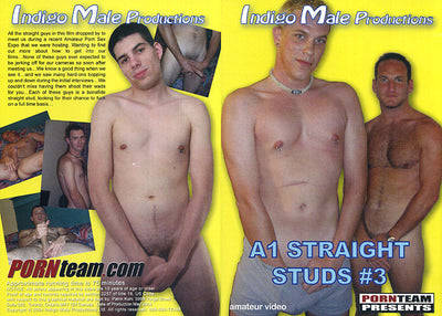 A1 Straight Studs 3 Porn Team Gay Mix Sealed DVD (Special)