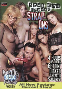 Real Men Prefer Strap Ons 4 Hour DVD In Sleeve