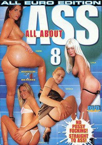 All About Ass #8 - All Anal DVD