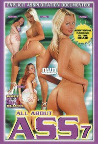 All About Ass #7 - All Anal DVD