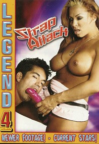Strap Attack 4 Hour Bisexual DVD In Sleeve
