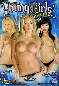 Young Girls Fantasies #8 - Hustler - Sealed DVD