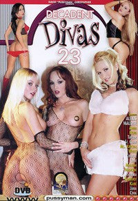 Decadent Divas #23 - Lesbian Legend Digital Download
