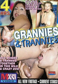 Grannies and Trannies 4 Hour Trans DVD In Sleeve