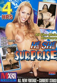 He She Surprise 4 Hour Shemale DVD In Sleeve