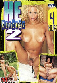 He Bitches #2 4 Hour Shemale Trans DVD In Sleeve
