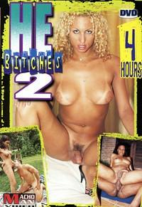 He Bitches #1 & #2 - 8 Hour Shemale Transsexual 2 DVD Set In Sleeve