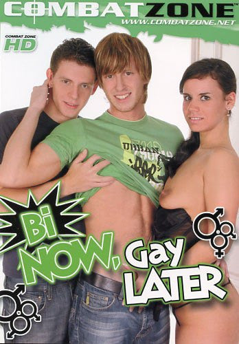 Bi Now Gay Later #1 - Combat Zone - DVD