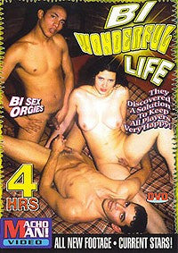 Bi Wonderful Life 4 Hour Bisexual DVD In Sleeve