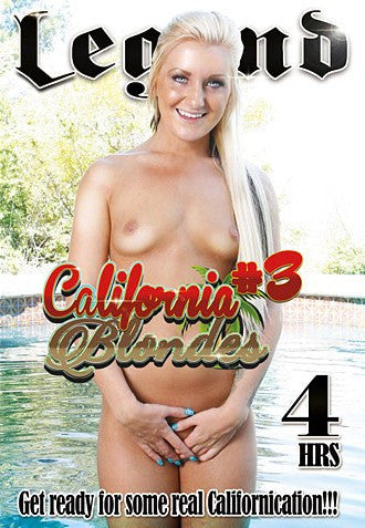 California Blondes #3 - 4 Hour Legend 2016 DVD In Sleeve