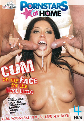 Cum on My Face for the First Time - 4 Hour DVD