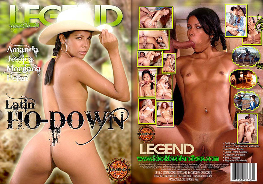 Latin Ho Down #1 Legend DVD (Shipped in White Sleeve)