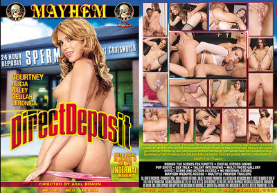 Direct Deposit (cream pie) Mayhem Sealed DVD
