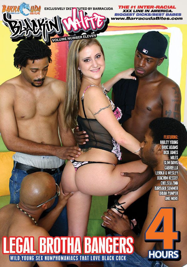 Legal Brotha Bangers - 4 Hour Interracial Adult DVD in Sleeve