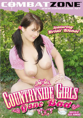 Countryside Girls Gine Bad - Combat Zone DVD in Sleeve