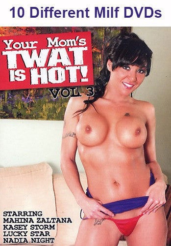 10 Different All Milf Hot Mom DVDs (Value Pack)