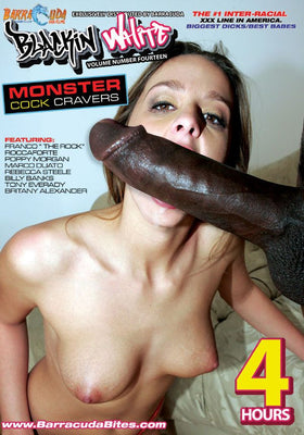 Monster Cock Cravers - 4 Hour Interracial Adult DVD in Sleeve