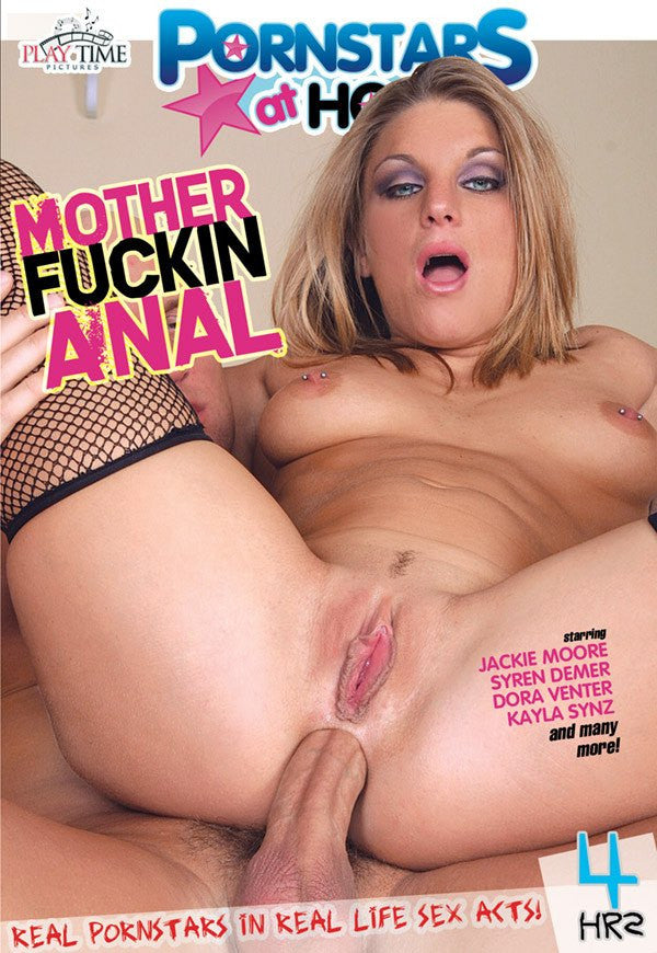 Mother Fuckin Anal - 4 Hour DVD