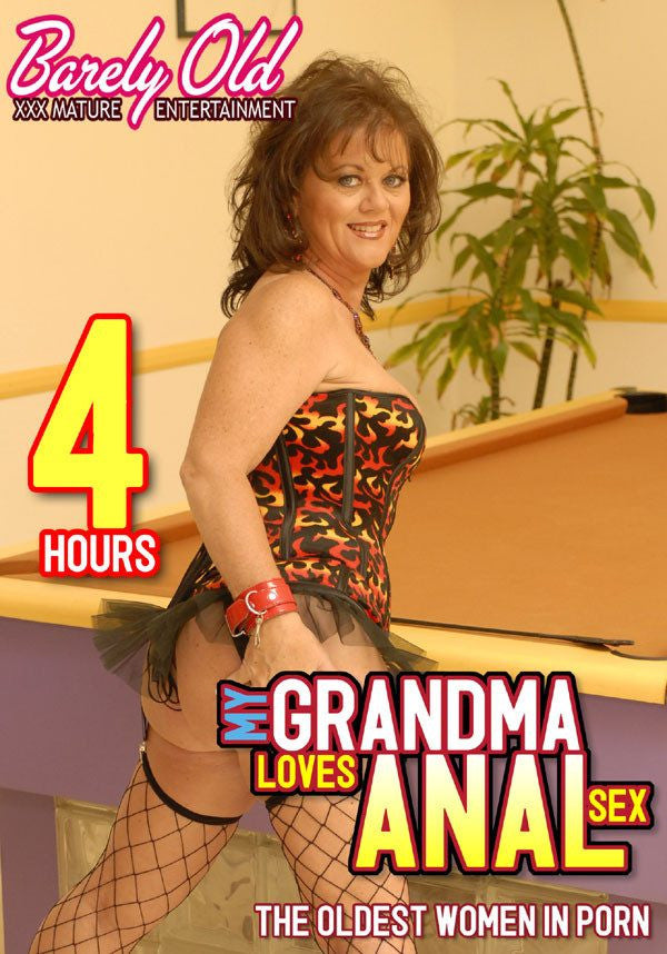 My Grandma Loves Anal Sex - 4 Hour Barely Old DVD