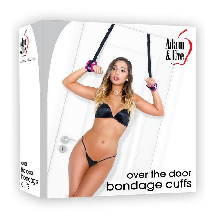 Over The Door Bondage Cuffs Adam & Eve (5 Year Warranty)
