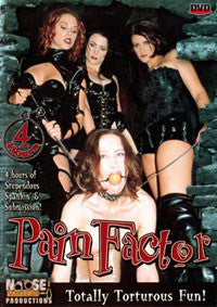 Pain Factor 4 Hour DVD in White Sleeve