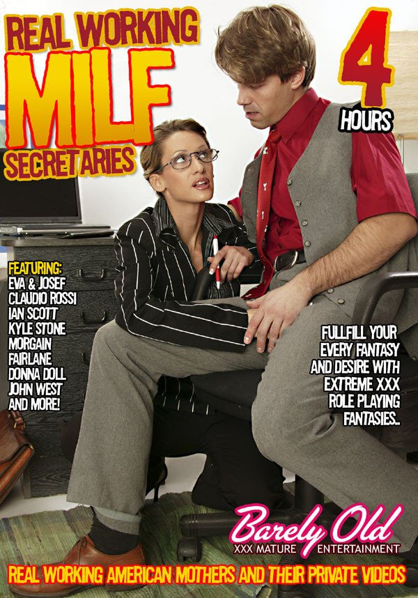 Real Working Milf Secretaries - 4 Hour Barely Old DVD