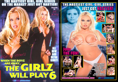 The Girlz Will Play #6 (lesbian) Jill Kelly Prod Sealed DVD
