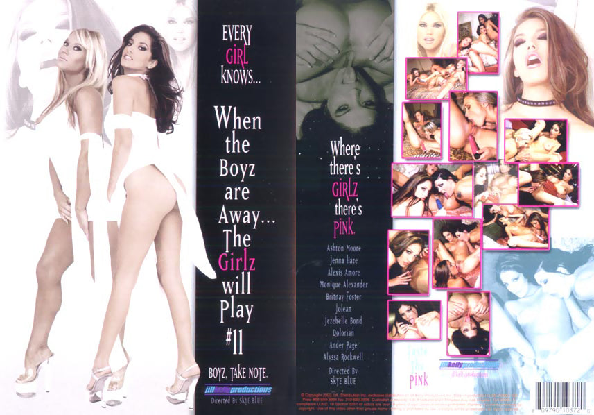 The Girlz Will Play #11 (lesbian) Jill Kelly Prod Sealed DVD