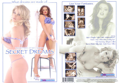 Secret Dreams - JKP Sealed DVD