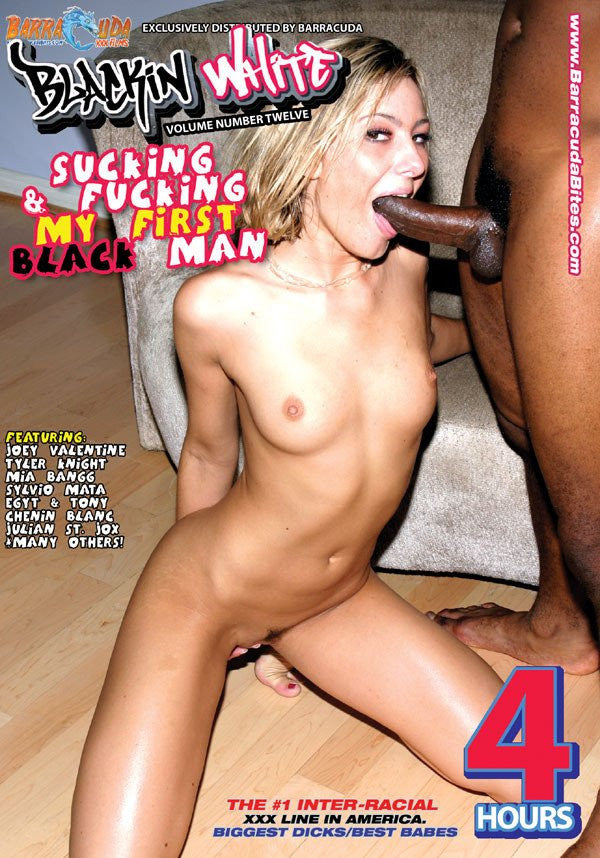 Sucking & Fucking My First Black Man - 4 Hour Interracial Adult DVD in Sleeve