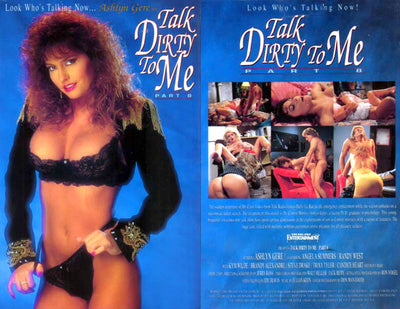 Talk Dirty To Me #8 (ashlyn gere) Midnight Classic Sealed DVD
