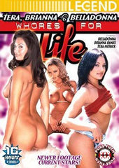Tera Briana Belladonna Whores 4 Life- 4 DVD Box Set