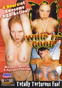 Whip it Good 4 Hour DVD in White Sleeve