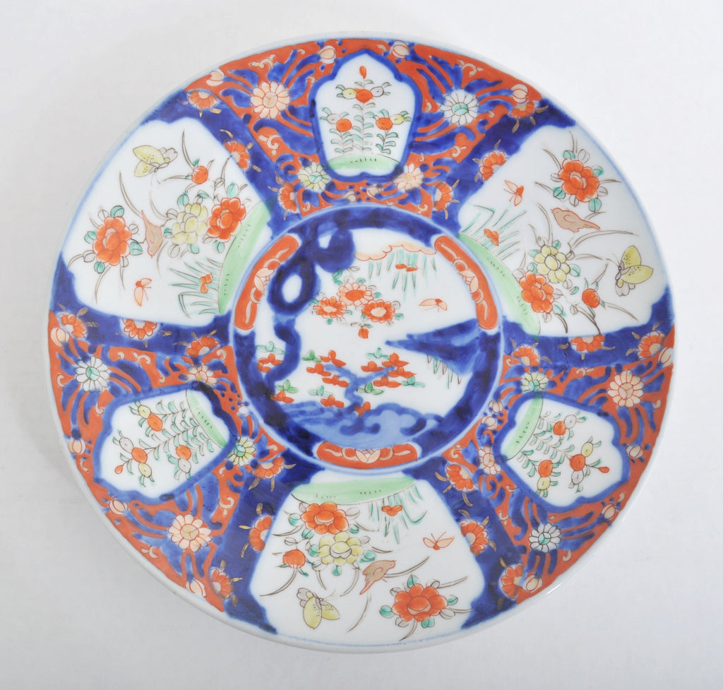 Antique Japanese Meiji Period Imari Charger, Circa 1890
