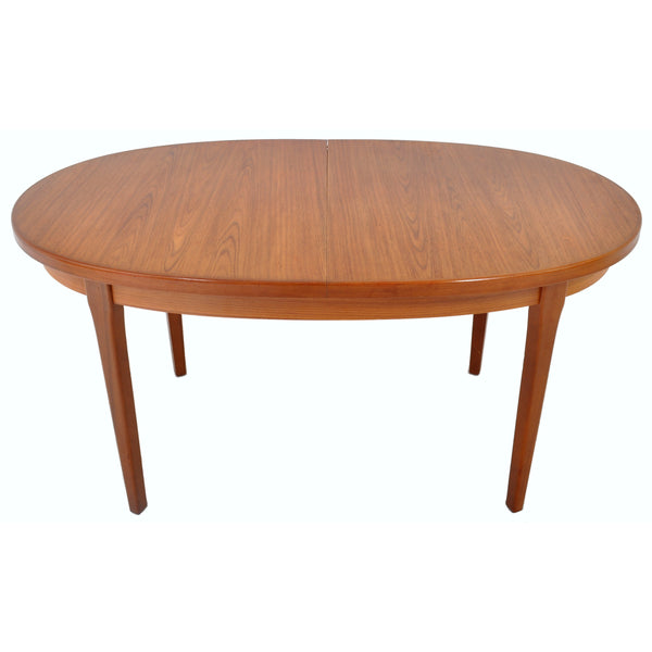 Mid-Century Modern Danish Style Teak Dining Table with Butterfly Leaf by G Plan, 1960s