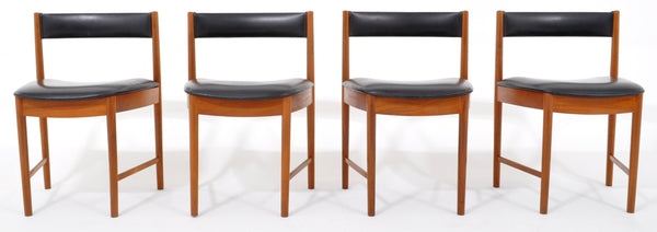 Set of 4 Mid-Century Modern Teak Dining Chairs by McIntosh, 1960s